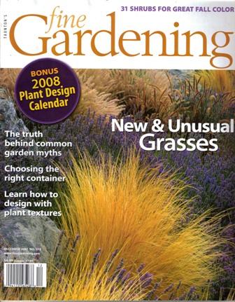 Fine gardening nov dec 07