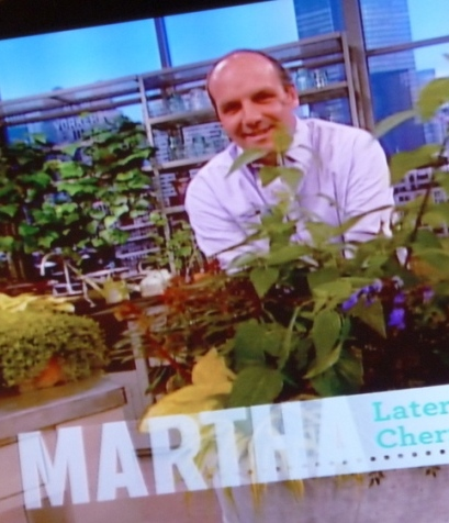 Jerry on Martha Stewart Show April 09