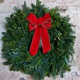 Fresh Mixed Greens Wreath