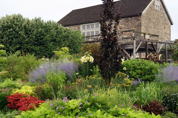 LHG Formal Garden in mid-July 1