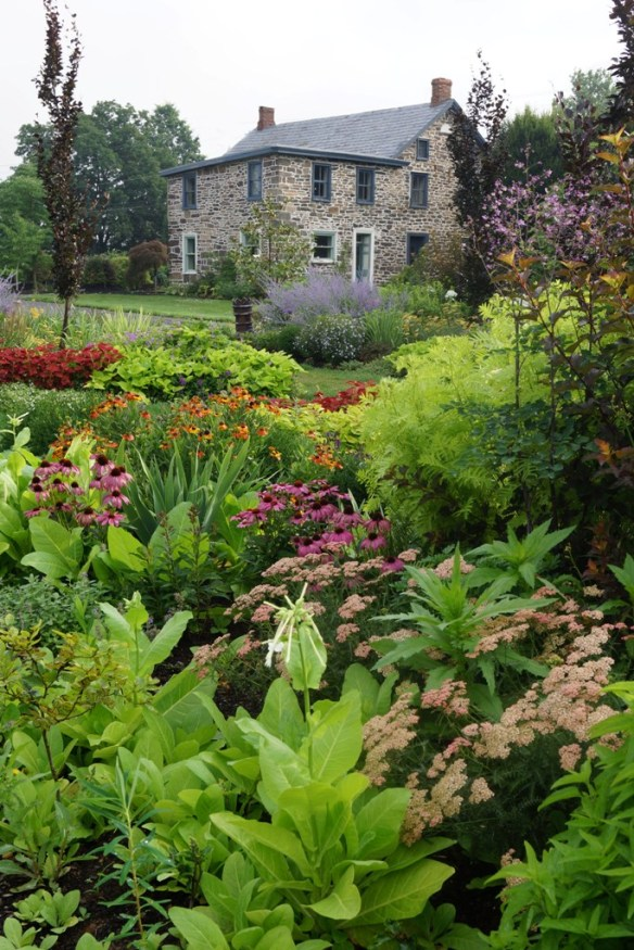 LHG Formal Garden mid-July 2