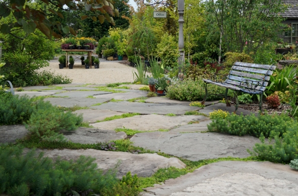 The Living Patio at Linden Hill Gardens in Ottsville, PA